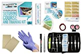 Suture Practice Kit with Suturing How-to Guide Designed by Medical Professionals for Medical Students to Practice and Perfect Suturing Techniques and Knot Tying Skills - The Apprentice Doctor
