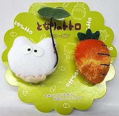 Chibi Totoro and Carrot Soft Plush Figure Hair Band
