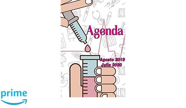 Agenda Agosto 2019 - Julio 2020: Tema Enfermeria Medicina ...