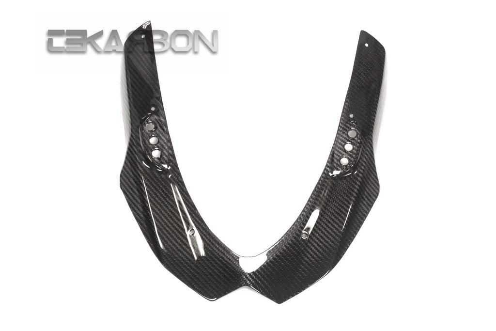 2009-2015 Suzuki GSXR 1000 Carbon Fiber Upper Fairing - Twill TEKARBON