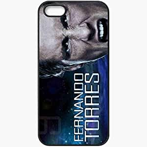 Personalized iPhone 5 5S Cell phone Case/Cover Skin 2013 spectacular fernando torres Black