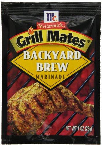 - McCormick Grill Mates Backyard Brew Marinade, 1 oz (Pack of 12)