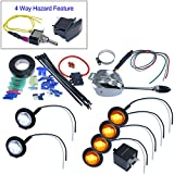 Turn Signal Kits (Install Kit & No Horn, Lever Switch)