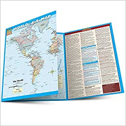 Amazon In Buy World U S Map Book Online At Low Prices In India