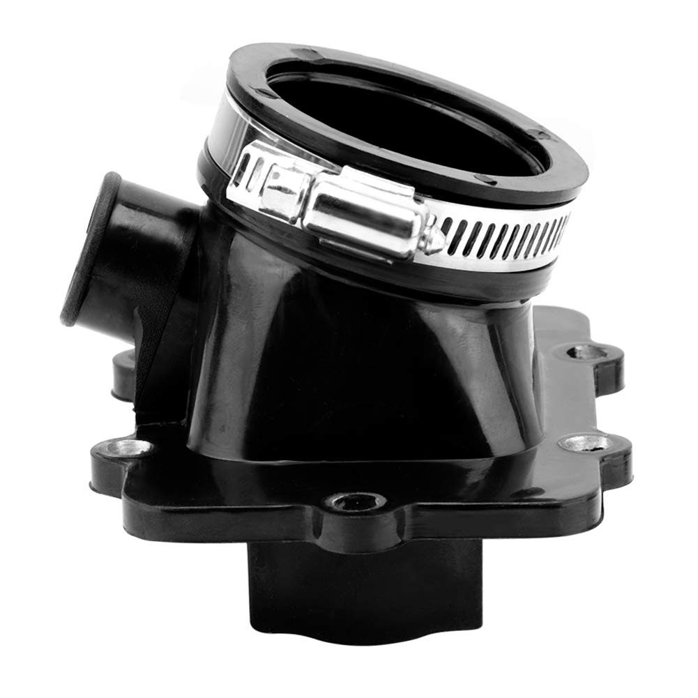 Terisass 420867882 Carburetor Interface Intake Manifold Adapter Joint Boot Fit for Ski-Doo Grand Touring 500 600 MXZ 500 500R 600 600R Legend 500 500SS 600 2001 2002 2003 2004