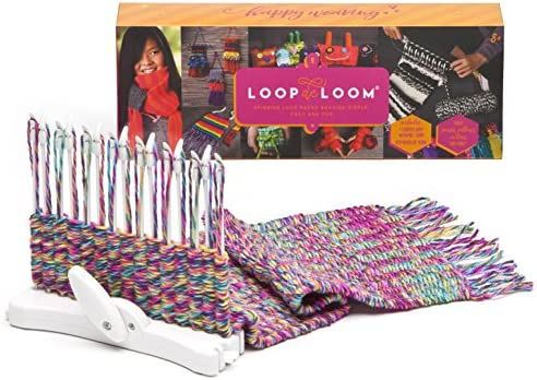 Amazon.com: Loopdeloom - Weaving Loom - Learn to Weave ...