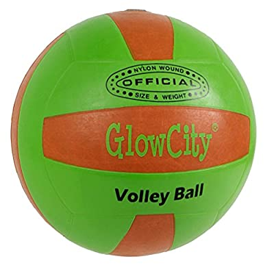 LED Light up Volleyballs, much brighter than glow in the dark! by GlowCity