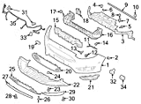 Ford Oem Valance Panel Fm5z17626aa Image 27
