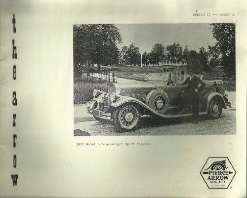 The Arrow 1930 Model B 4-passenger Sport Phaeton (Series 191 - Model 1)