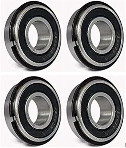 """Pack of 10 5//8/"""" ID x 1 3//8/"""" OD Ultra Smooth Go Kart Snap Ring Wheel Bearings"""