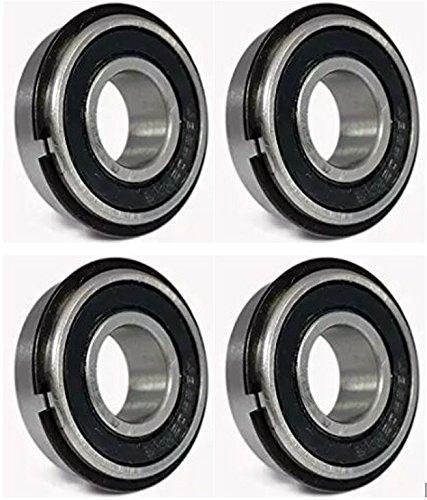 Ultra Smooth Go Kart Snap Ring Wheel Bearings, 5/8