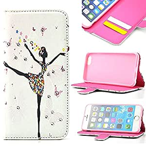 iPhone 6 Case, Carryberry iPhone 6 (4.7) Case, Premium Dream Girl Wallet Case with STAND Flip Cover for iPhone 6 (4.7)