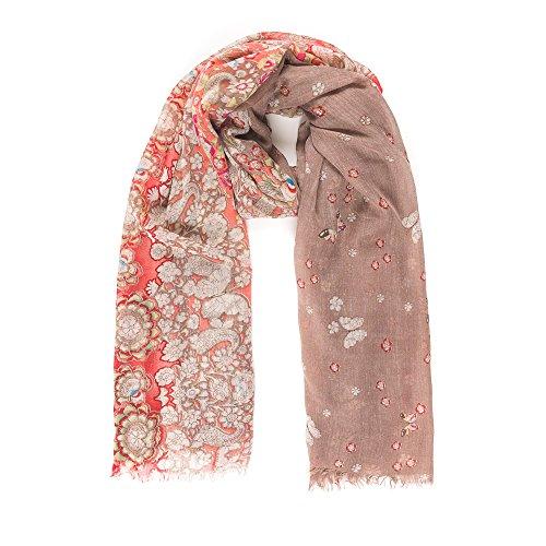 Scarf for Women Lightweight Floral Flower Fashion Fall Winter Scarves Shawl