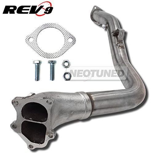"Rev9 3"" Downpipe Down Pipe WRX 08-14 STi 08-18 Legacy GT 05-09 Forester XT 09-13, DP-027"