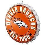 Denver Broncos NFL Bottle Cap Wall Sign