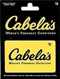 Cabelas $25 Gift Card