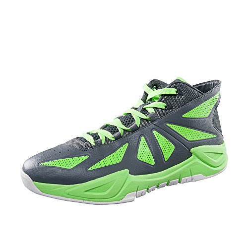 Peak Mens Ares III Basketball Shoes Fluorescent Green Dv4wW