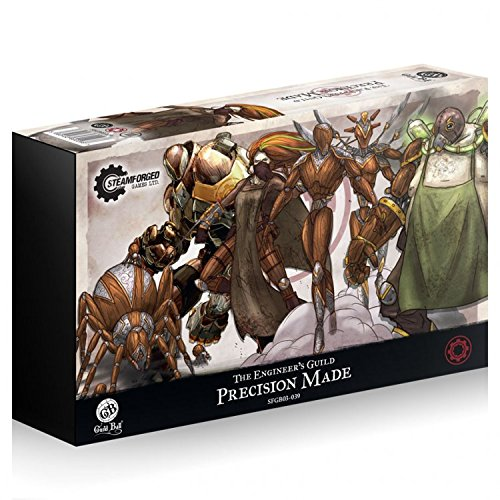 (Steamfoged Games Guild Ball: Engineer Precision Made Miniature Game Figure)