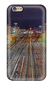 Cute Appearance Cover/tpu QYFWHtr4182nCEQz Railroad Case For Iphone 6