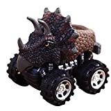 DORIC Mini Creative Toy Cars Dinosaur Pull Back Car