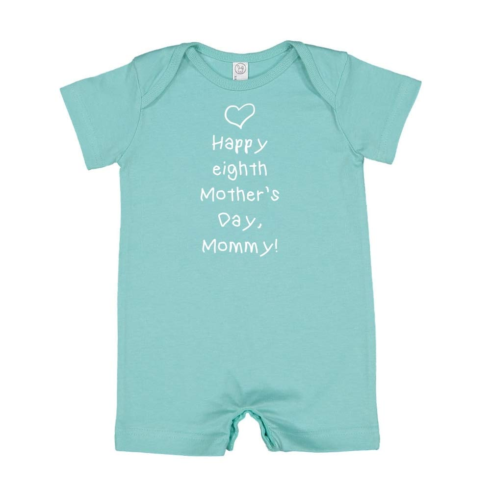 Happy Eighth Mothers Day Mommy Baby Romper