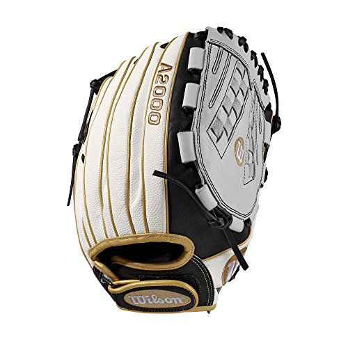 "Wilson A2000 V125 12.5"" Outfield Fastpitch Glove - Right Hand Throw"