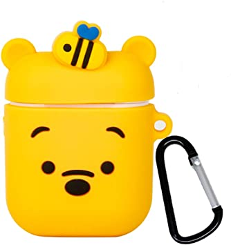 Amazon Com Ifilove Compatible With Winnie The Pooh Airpods Case