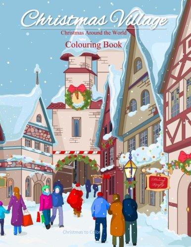 Village Coloring Book - 6