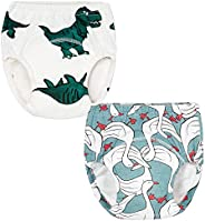 October Elf Unisex Baby Toddler Potty Training Pants Reusable Baby Underwear