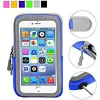 Cell Phone Armband: 5.5 Inch Case for iPhone X, 8, 7, 6,...