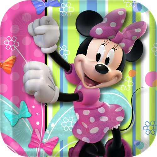 - Minnie Mouse 'Bow-Tique' Small Paper Plates (8ct)