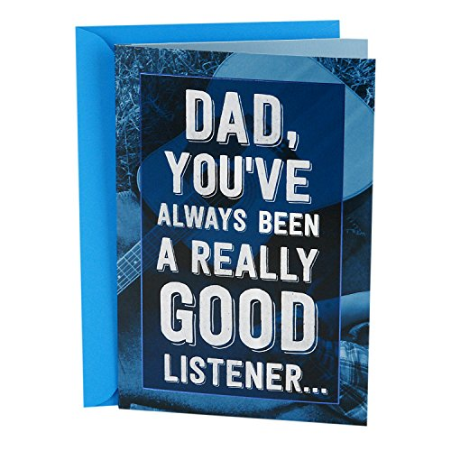 Hallmark Father's Day Song Greeting Card Plays