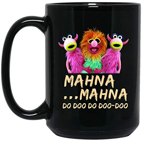 The Muppets Show Animals Mahna Mahna One Side 15 oz. Black Mug ()
