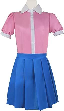 NewAnimeJp Super Danganronpa 2 Mikan Tsumiki Kitchen Apron Cosplay Costume for Girls