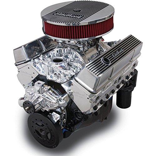 Edelbrock Crate Engine Performer - Edelbrock 46414 Performer 363 Hi-Torq Crate Engine 9.0:1Compression 353HP/405Torque PerformerEPSVortecManifold/750CFMPerforme SeriesCarb Elec.Choke w/Short Water Pump PN[8810] EnduraShine Performer 363 Hi-Torq Crate Engine