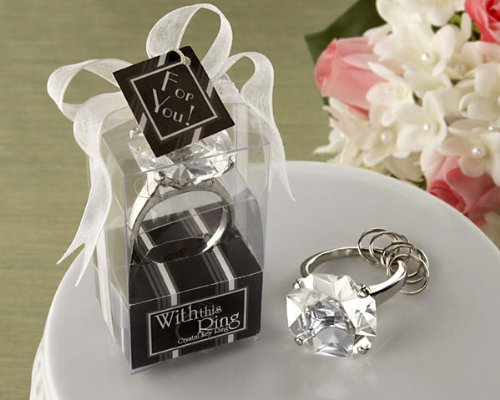 With This Ring Engagement Ring Keychain [SET OF 24]