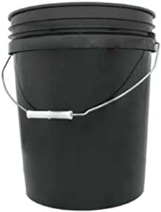 LEAKTITE B5GSKD 5GAL Black Plastic Pail