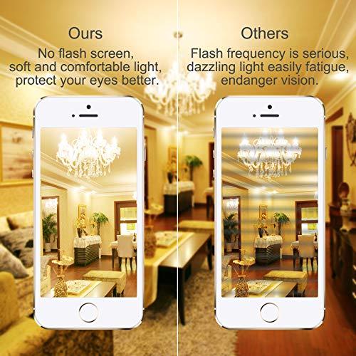 Anmossi Lampadina LED E27,Lampadine Mais12W Equivalenti a 100W Incandescenza,Bianca Calda 3000K,1200Lm,Non Dimmerabile,Lampadina Filettata Edison,E27 Illuminazione LED,4 Pezzi