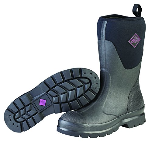 Muck Chore Rubber Women's Work Boots,Black,10 B US