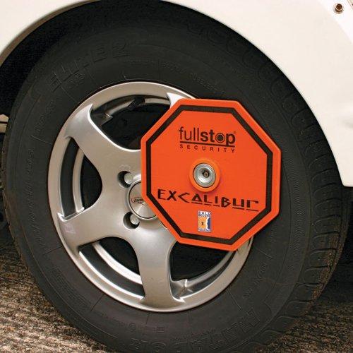 Purpleline Fullstop Excalibur Wheel Clamp
