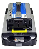 BiXPower XP290 AC Power Pack - Super High Capacity (288 Watt-hour) Lithium Ion Battery with 110V 300W Pure Sine Wave AC Inverter