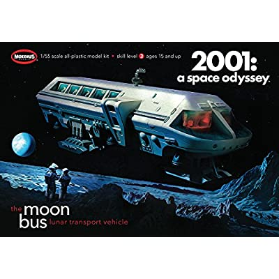 2001 Moon Bus: Toys & Games