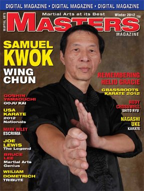 2012 Winter Issue of Martial Arts Masters Magazine Dvd/cd Set