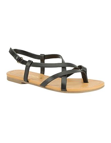73ac91d71 SODA Criss Cross Girls Sandals
