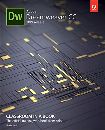 Adobe Dreamweaver CC Classroom in a Book (2019 Release) -