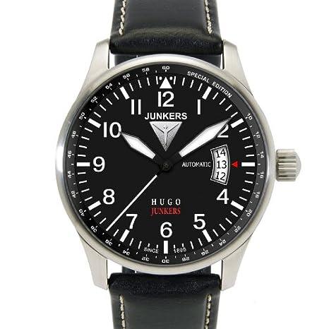 Junkers Reloj Analógico Automático para Hombre con Correa de Piel - 66642: Junkers: Amazon.es: Relojes
