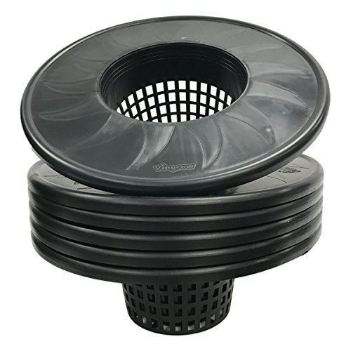 Viagrow V6ML-6 net Wide Lip mesh Pot Bucket lid