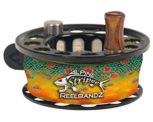 Stripee ReelBandz 3 pack - Universal Fit Fly Fishing Reel Cover to Prevent Line Tangles- Reg (Brook - Line Innovation