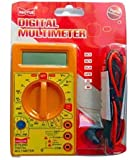 DT830D Small Digital Multimeter, Yellow
