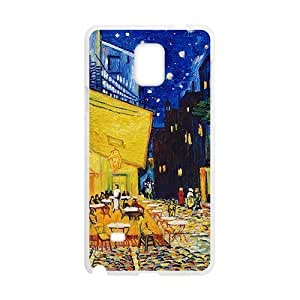 Art Tardis Doctor Who Samsung Galaxy Note4 Cell Phone Cases Cover Popular Gifts(Laster Technology)